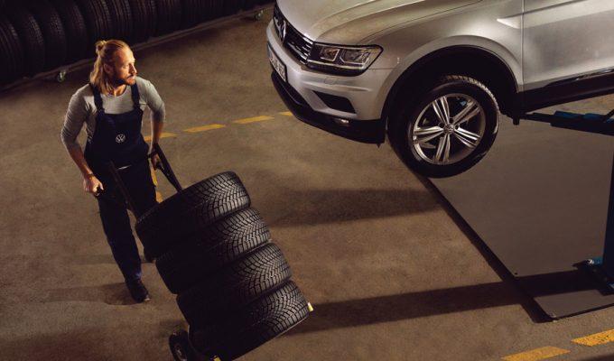 Volkswagen servis - zamjena guma